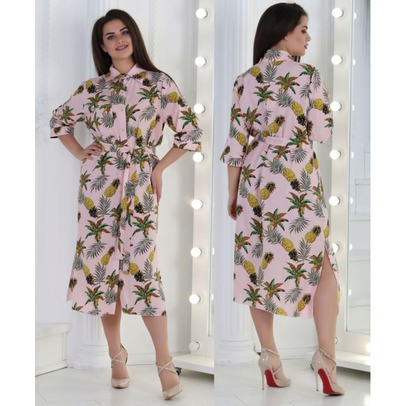 Платье  Ананас мод.04008 ХЛ+