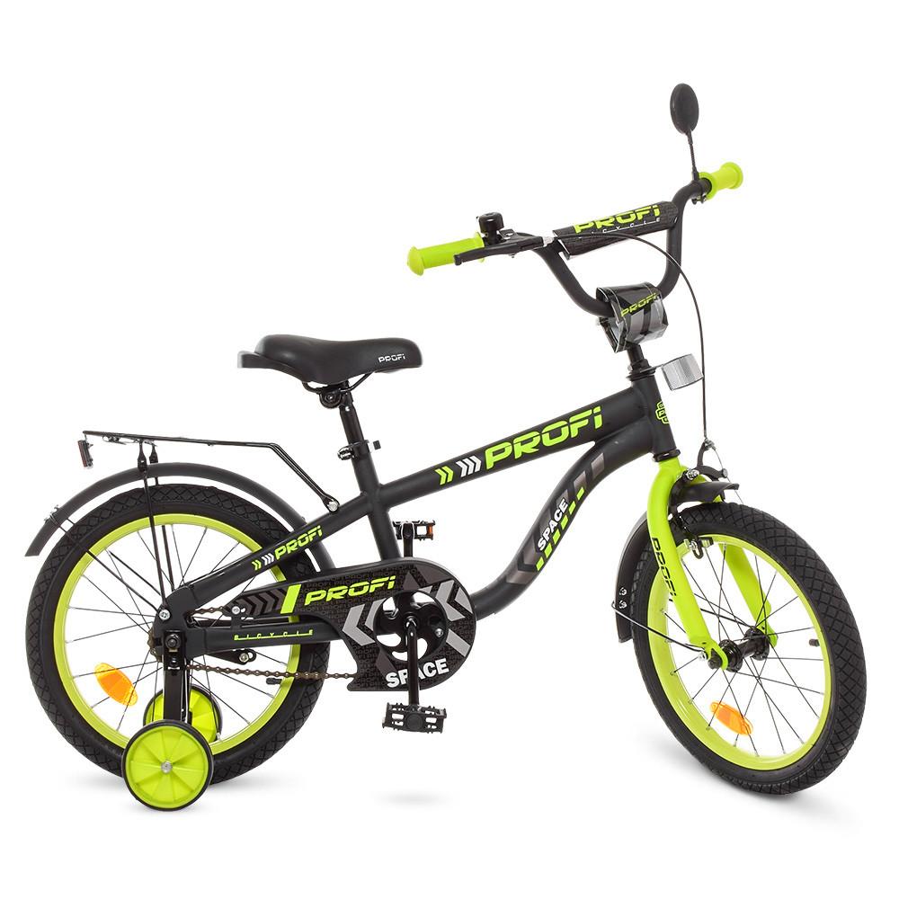 Велосипед детский PROF1 18д. T18152 Черный