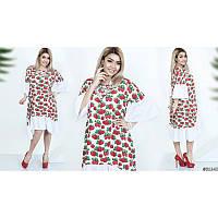 Платье мод.03698/1 ХЛ+