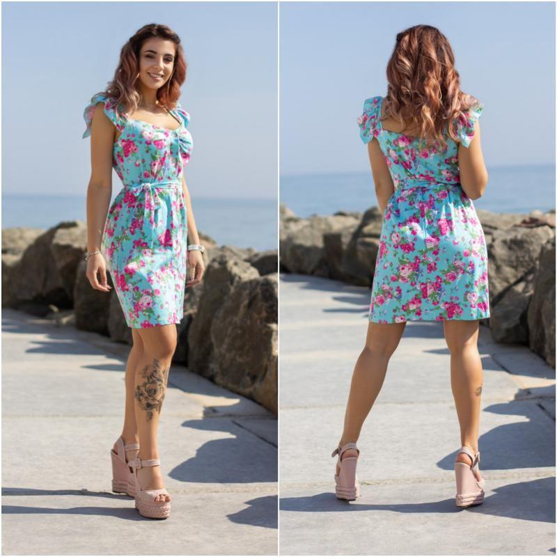 Летнее платье  мод.4015+