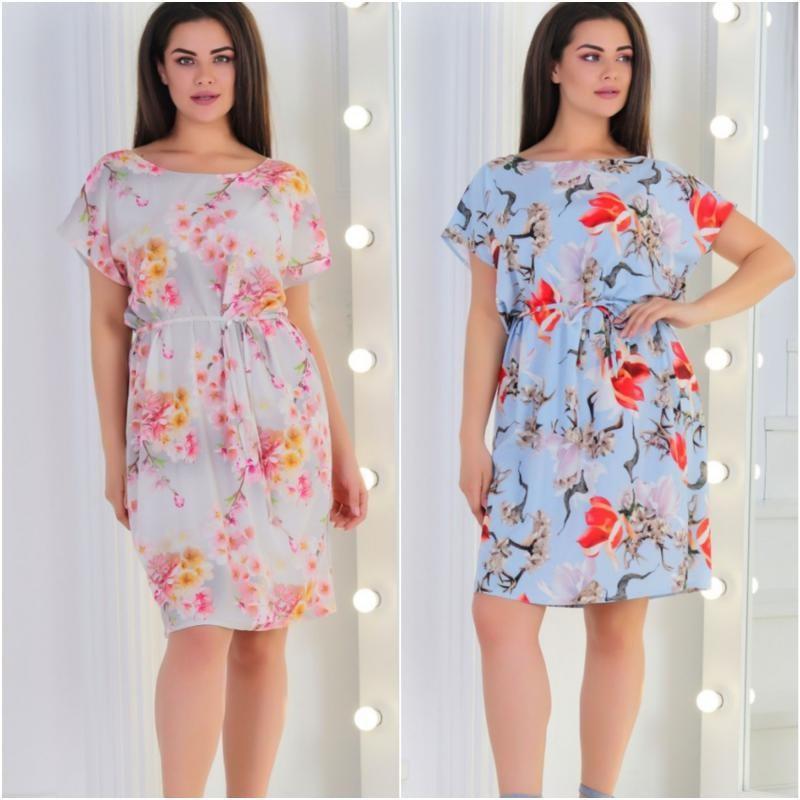 Платье Сакура  мод.04023 ХЛ+