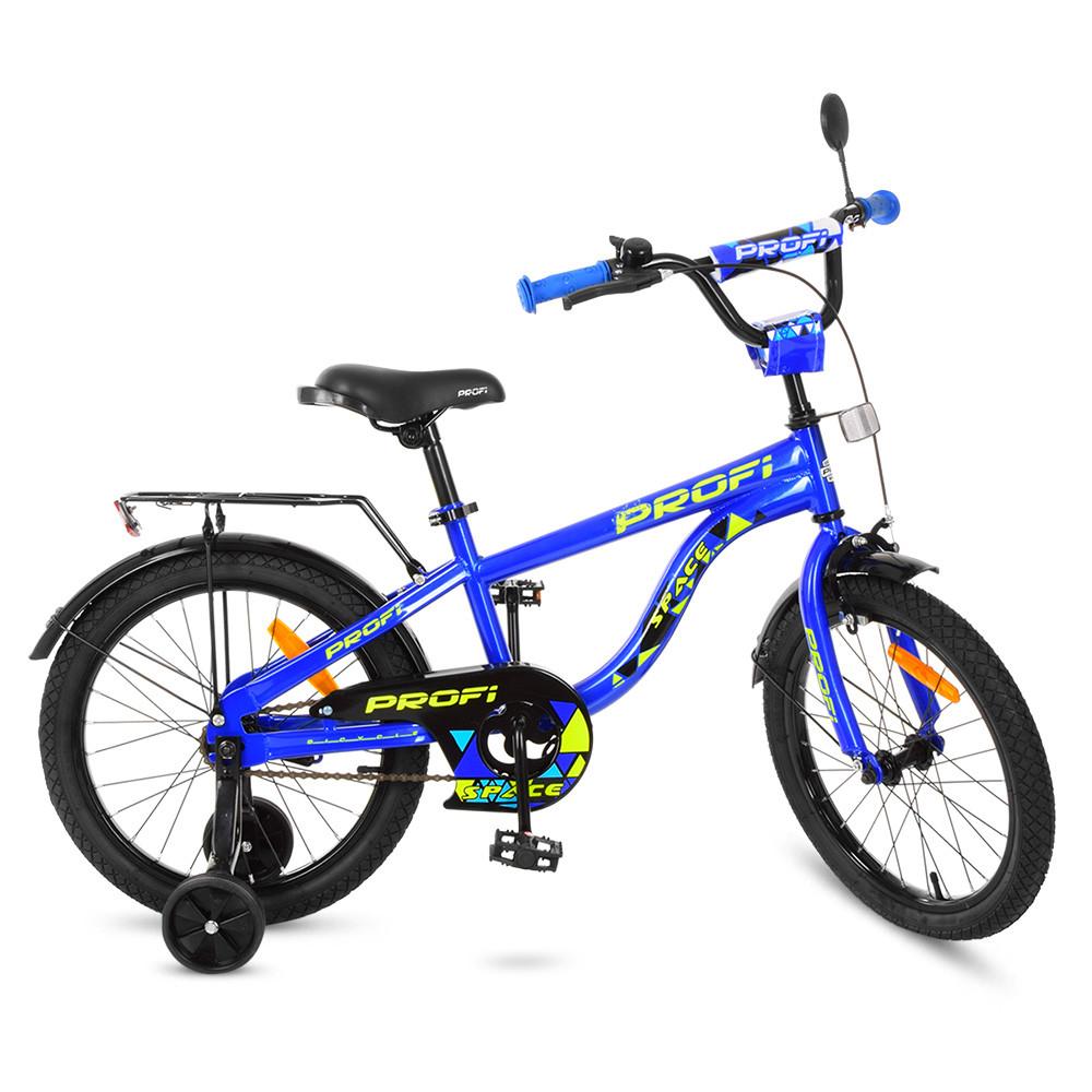 Велосипед дитячий PROF1 18д. T18151 Синій