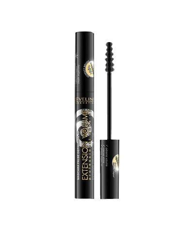 Эвелин Тушь для ресниц максимальный обьем 4D «Extension Volume» Eveline Cosmetics, 10 мл