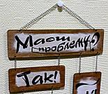 Флоучарт «Життя без проблем» як ідеальний мотиваційний декор для дому та офісу, фото 9