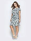 Платье прямого кроя с принтом ЛЕТО, фото 3