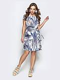 Платье прямого кроя с принтом ЛЕТО, фото 6