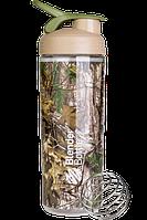 Спортивная бутылка-шейкер BlenderBottle SportMixer Sleek 28oz/820ml Real Tree, фото 1