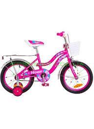 Велосипед FORMULA KIDS 16 FLOWER OPS FRK 16 043.Малиновий колір.