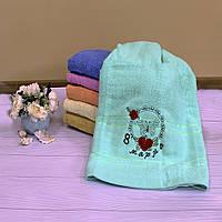 Подарочное полотенце банное С 8-м Марта