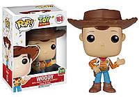 """Фігурка Funko Pop Дісней """"Історія іграшок"""": Ковбой Вуді (6877) #168 Toy Story Disney Woody, фото 1"""