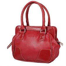 Женская сумка из качественного кожезаменителя  LASKARA (ЛАСКАРА) LK-10247-3D-red, фото 2