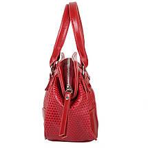 Женская сумка из качественного кожезаменителя  LASKARA (ЛАСКАРА) LK-10247-3D-red, фото 3