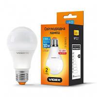 Лампа  LED универсальная  Videx 10W 4100K E27 12-48V