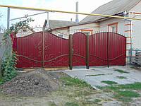 Забор з кованими елементами , фото 1