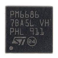 ШИМ-контроллер pm6686 (99% заменяет RT8206A)