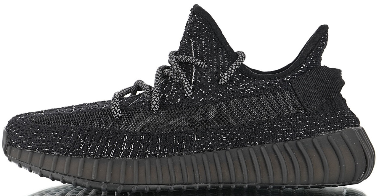 5c75597d Мужские кроссовки adidas Yeezy Boost 350 V2 Reflective Black Static (в