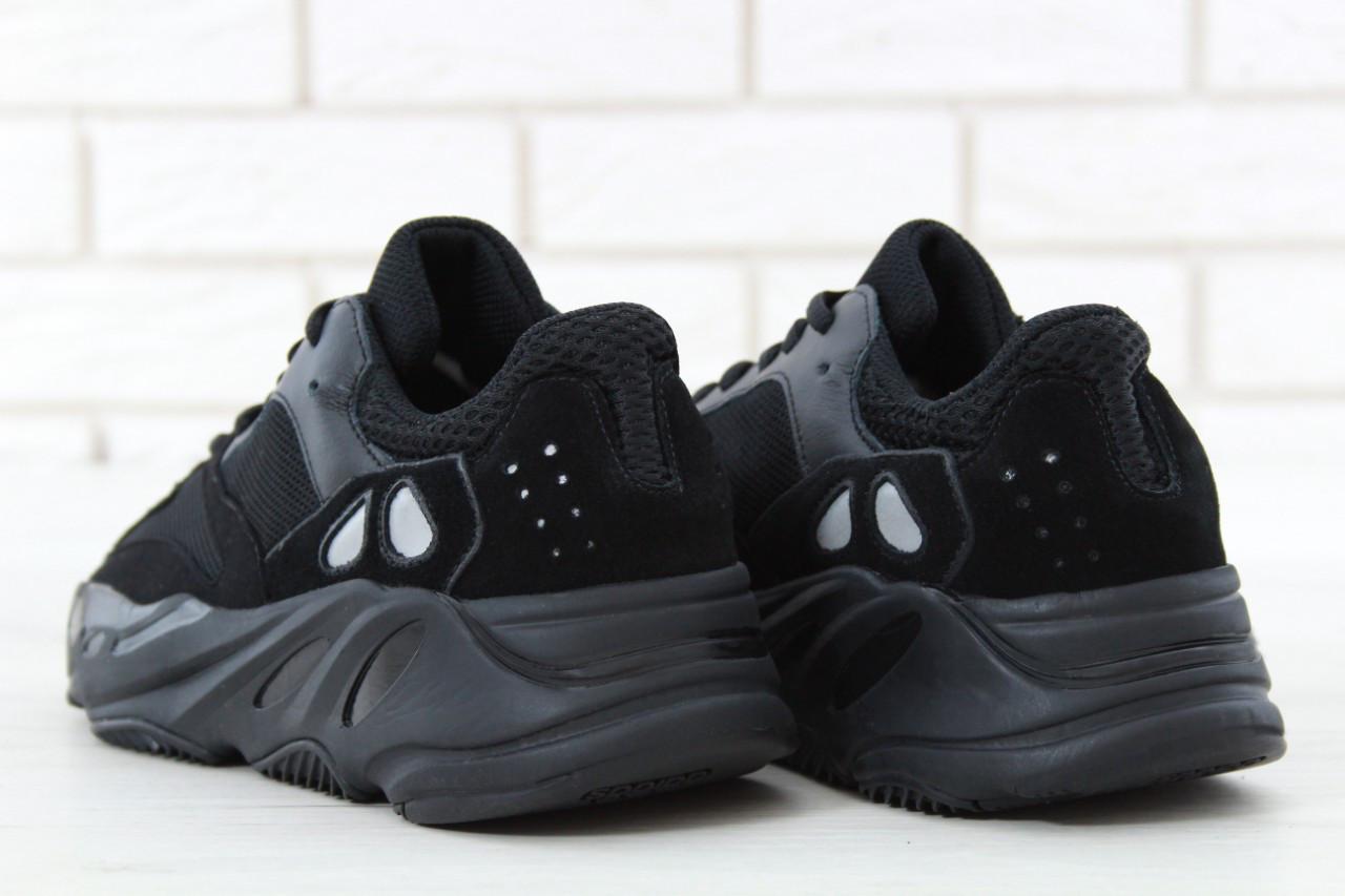 free shipping 7c40a d7695 Женские кроссовки Adidas Yeezy Boost 700 Wave Runner Black (в стиле Ад