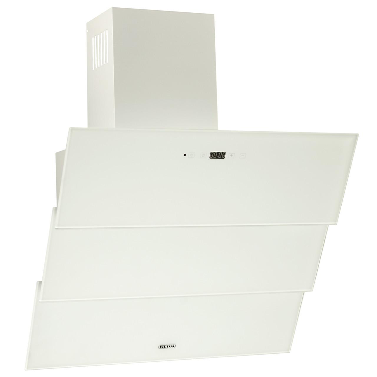 Витяжка кухонна вертикальна ELEYUS Troy 1200 LED SMD 60 WH + Безкоштовна доставка!