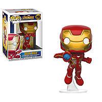 Фігурка Funko Pop Месники Марвел: Залізна Людина на підставці (26463) #285 Marvel Iron Man