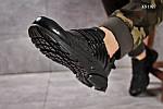 Мужские кроссовки Nike Air Presto BRS 1000 (черные), фото 2