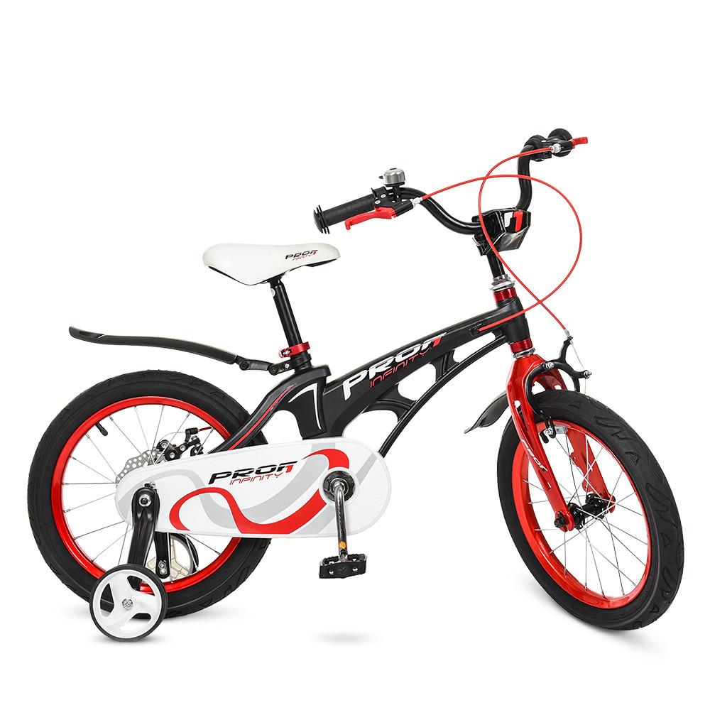 Велосипед детский PROF1 18д. LMG18201 Черно - красный