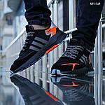Мужские кроссовки Adidas Nite Jogger (Черные), фото 2