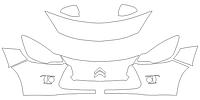 Стандартный набор для CITROEN C3 2010-