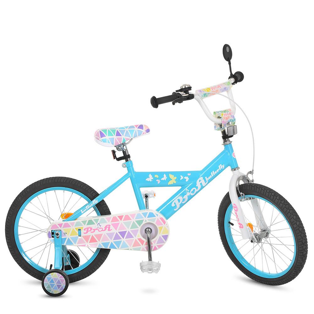 Велосипед детский PROF1 18д. L18133 Голубой
