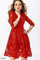 0391ea31ca8 Красное Платье а Силуэта — Купить Недорого у Проверенных Продавцов ...