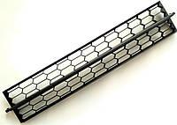 Оригинальная решетка радиатора центральная нижняя в бампере Шкода Октавия А7 5E0853677 SkodaMag