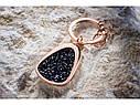 Оригинальный брелок Mercedes Key Ring, Crystal, Swarovski, pink gold colours / black (B66953577), фото 2