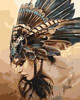 Картина по номерам Охотница КНО4586 Идейка