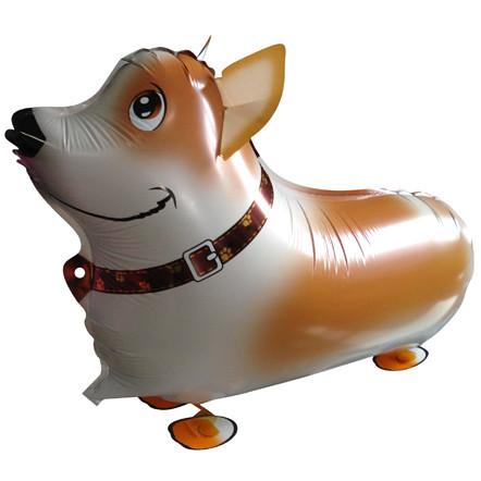 Ходячая фигура собака Корги Ретривер (Китай)