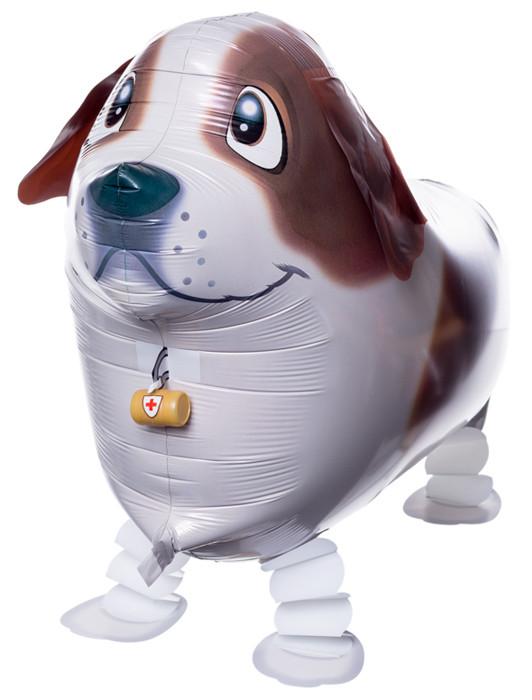 Ходячая фигура собака Коричневая (Китай)