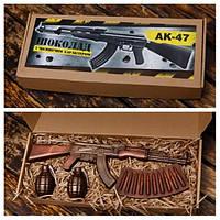 Шоколадный набор оружия АК47