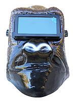 Сварочная маска откидное стекло Обезьяна, фото 1