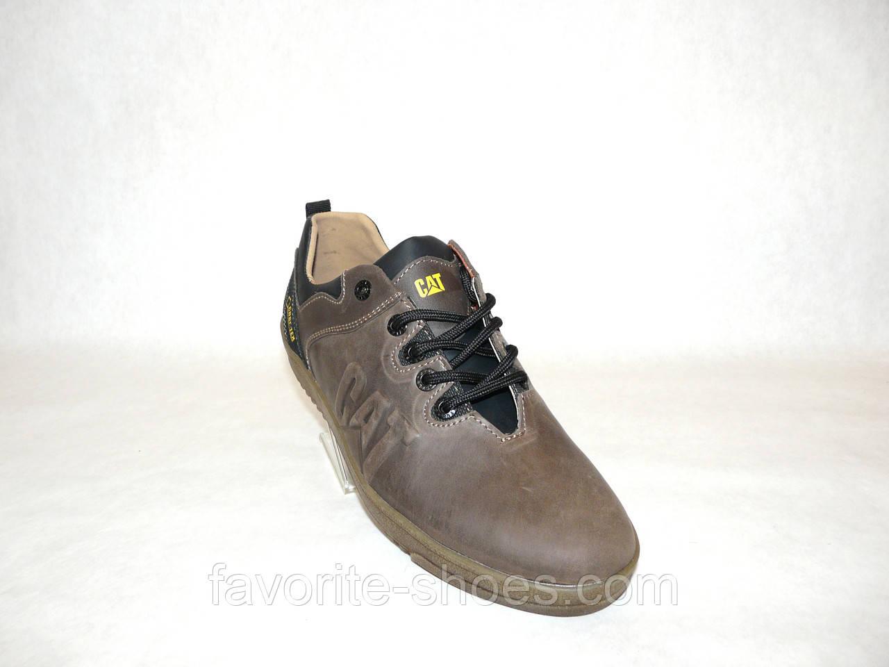 f4d99593 Кожаные мужские кроссовки CAT кор.каучук 42 размер, цена 880 грн., купить  Лубны — Prom.ua (ID#572745245)