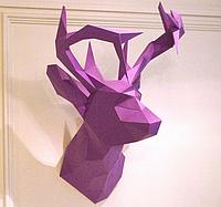 Олень 3Д модель papercraft, Паперкрафт