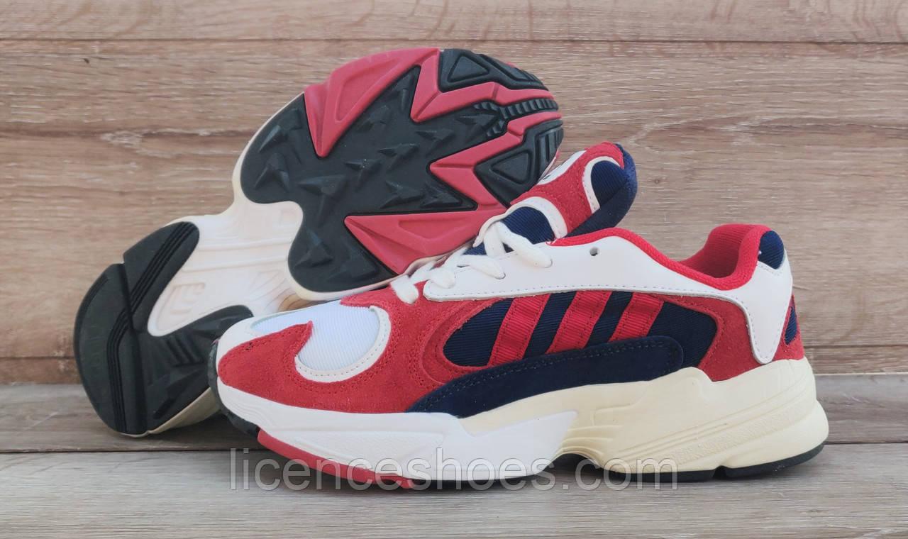 Жіночі кросівки Adidas Yung 1 (Falcon) Navy/Red/White