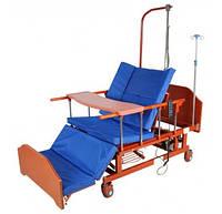 Кровать электрическая DB-11А Праймед с боковым переворачиванием, туалетным устройством, фото 1
