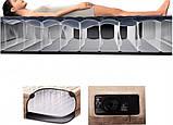Кровать надувная Intex 64456 + встроенный насос, фото 4