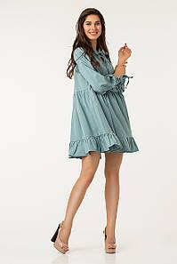Платье Lilove №43569 44-46 голубой