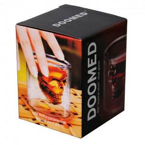 Стакан для алкоголя Череп Doomed 75 мл