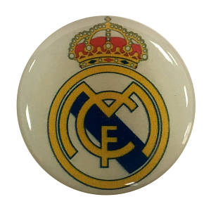 """Попсокет PopSocket 3D 3D """"Реал Мадрид"""" №37 - Держатель для телефона Поп Сокет в блистере с липучкой 3М"""