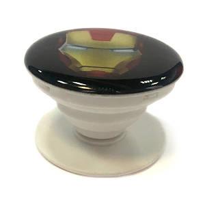 """Попсокет PopSocket 3D """"Залізна Людина"""" №19 - Тримач для телефону Поп Сокет у блістері з липучкою 3М"""