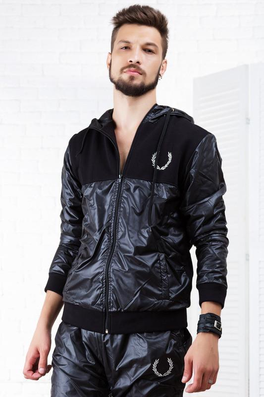 9c753a3cbe09 Мужской спортивный костюм Fred Perry демисезон 46-52 Черный: продажа ...