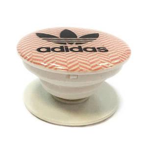 """Попсокет PopSocket 3D """"Adidas"""" №13 - Тримач для телефону Поп Сокет у блістері з липучкою 3М"""