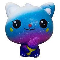 Мягкая игрушка антистресс Сквиши Squishy Космический котенок с запахом №36