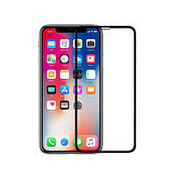Защитное стекло Walker 5D Full Glue для Apple iPhone X / iPhone XS Черный