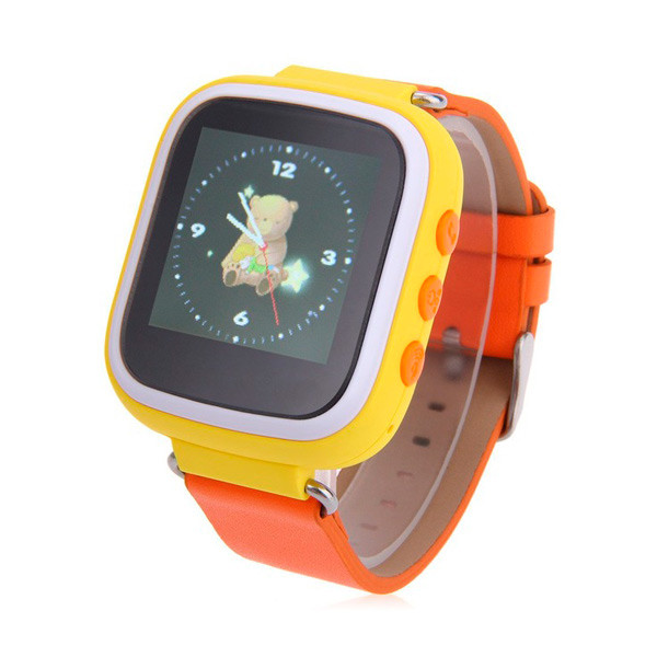 Детские часы с GPS SMART BABY WATCH Q80 (Q60s) Желтые
